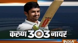 Ind vs Eng, 5th Test: Karun Nair Scored Unbeaten Triple Century (303 Runs), India Declared at 759/7