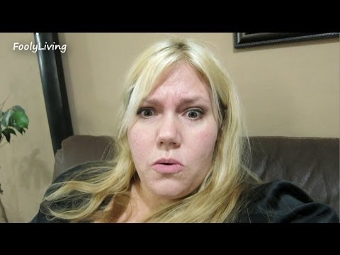 Obese Girl: TOO FAT FOR SCALE! - February 26, 2014 - FoolyLiving Vlog