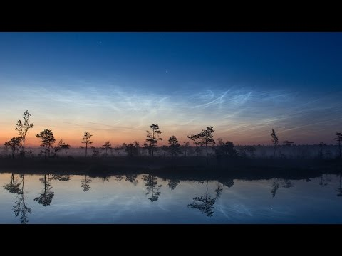 ScienceCasts: Electric Blue Sunsets
