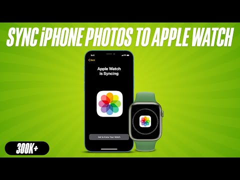 How to Sync iPhone Photos to Apple Watch