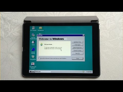 Install Windows 95/98 on iPad / iPhone to play with your games like Fallout 2, Age Of Empires 2, ...