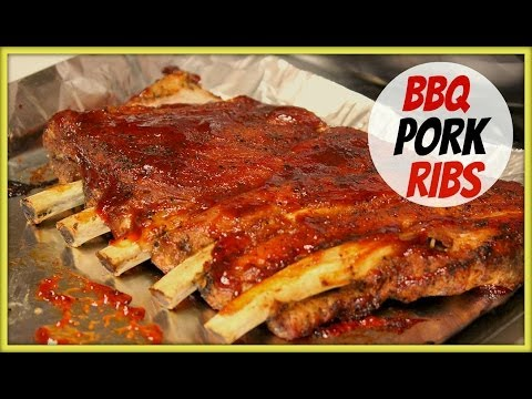 BBQ Pork Ribs in Oven Recipe!