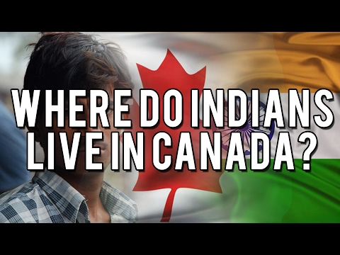 WHERE DO INDIANS LIVE IN CANADA?