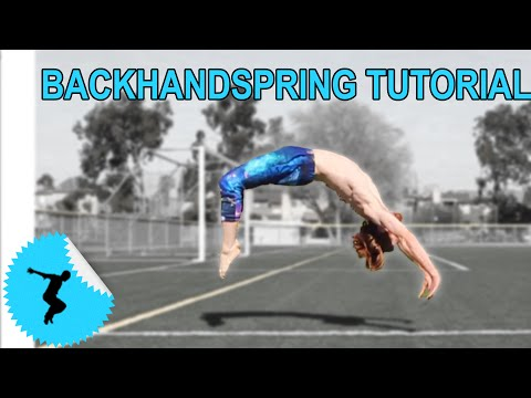 How To Back Handspring In 4 Steps Even Without A Gym or Spotter