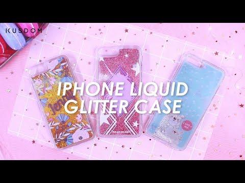 iPhone Liquid Glitter Case - Design Your Own