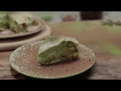 [JAK] Ep 5: Matcha-Tiramisu Crepe Tower