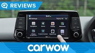 Hyundai i30 (Elantra) 2018 infotainment and interior review | Mat Watson reviews