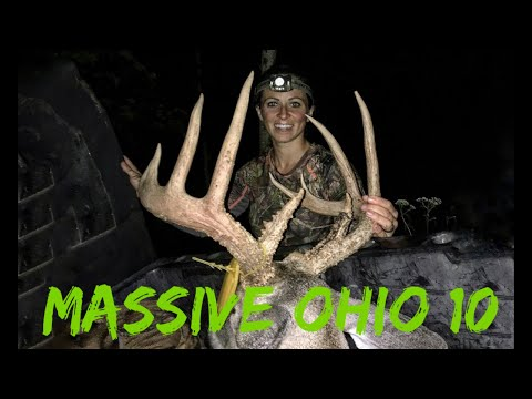 Sarah Bow Hunts Massive 10 Pointer In Ohio   Bowmar Bowhunting  