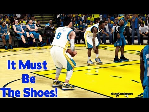 NBA 2K12 My Player - It Must Be The Shoes! | $315 LeBrons On My Feet VS. D. Howard