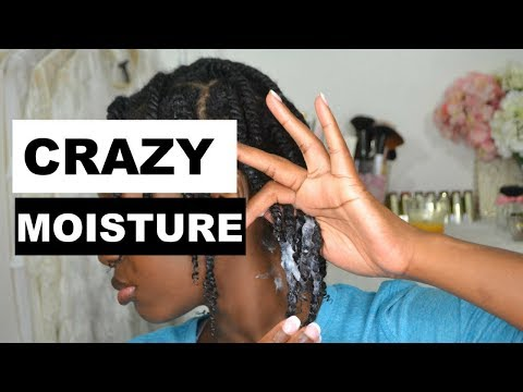 KEEP NATURAL HAIR MOISTURIZED FOR A WEEK | MOISTURIZE DRY NATURAL HAIR | 4B + AS I AM LONG & LUXE