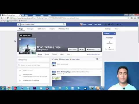 How to Create A Facebook Fan Page(Tagalog)