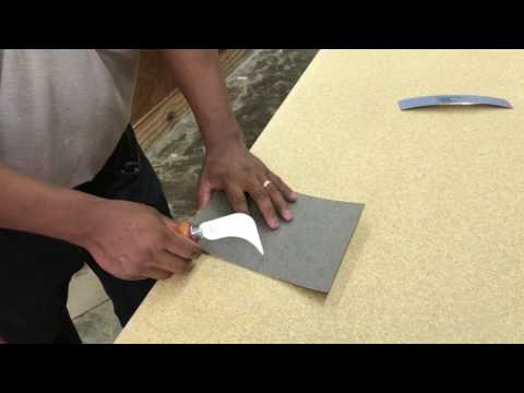Laminate Countertops - HOW TO USE A SCORING KNIFE