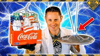 How To Make Lightning ⚡ With Coke Bottles