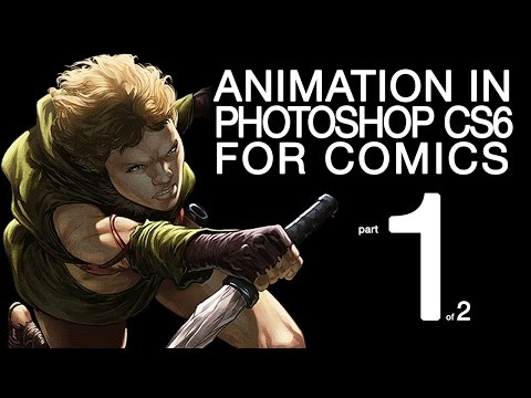Comic book animation - Photoshop tutorial