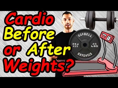 Cardio Before or After Weights to Burn Fat Fast | Cardio before or after lifting | Weight Training