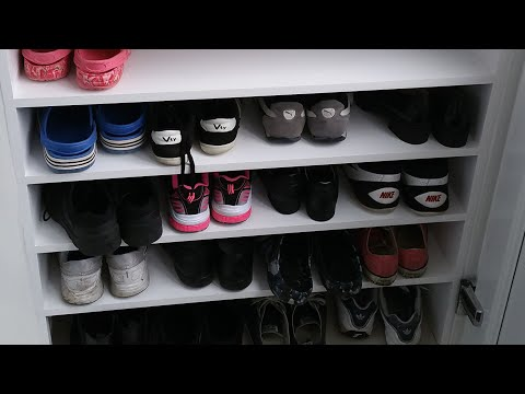 Easy way to build a DIY shoe rack