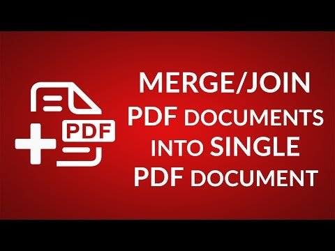 How to Combine PDF files without Acrobat - Unite PDF files