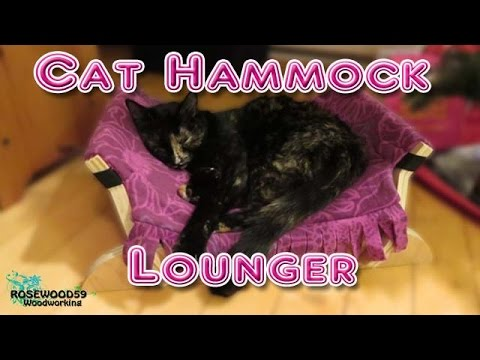 How To Make A Cat Hammock Lounger