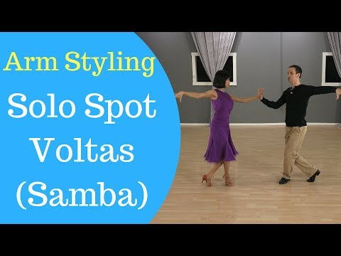 Arm Styling For Solo Spot Voltas In Samba