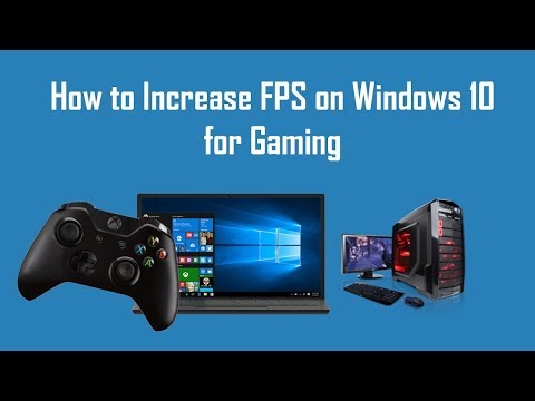 How to Optimize Windows 10 For Gaming - Increase fps 60+