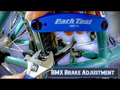 How To Adjust BMX Brakes