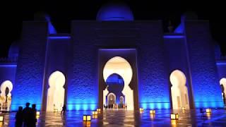 Sheikh Zayed Grand Mosque: Day and Night, 4K (UHD)