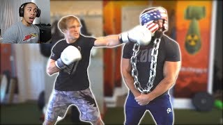 REACTING TO LOGAN PAUL'S PUNCHING POWER?!