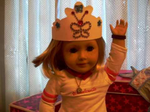 American Girl Doll Party Hats craft