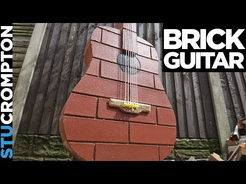 Brick guitar Finished.