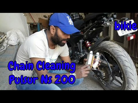 How to clean chain of a bike