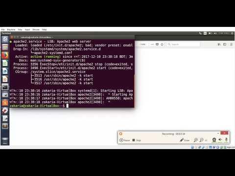Apache web server install & configuration in ubuntu linux