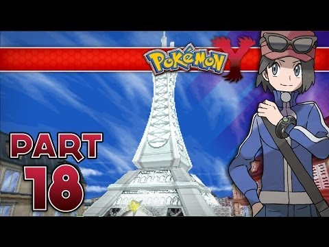Pokemon Y - Part 18 : Lumiose City Gym
