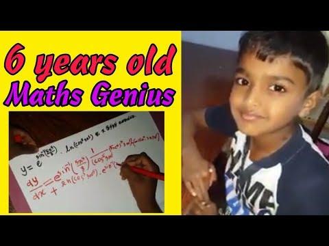 Maths genius kids | genius child