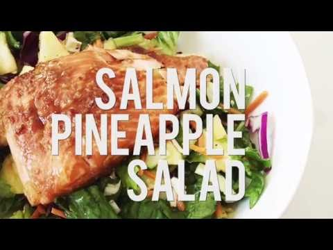 Salmon Pinapple Salad - Easy Dinner Salad
