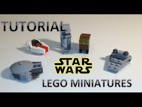 Lego Star Wars Miniatures Build Tutorial - Welcome to the Workshop - Lego Star Wars Miniatures