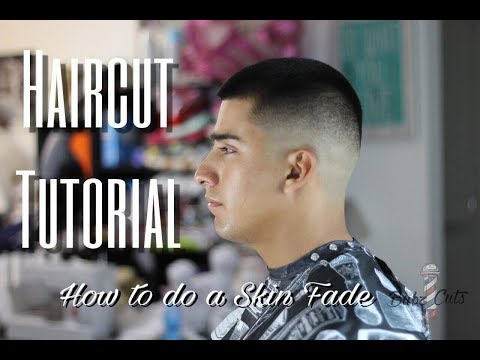 HAIRCUT TUTORIAL | HOW TO DO A SKIN FADE | SUPPORT THE TROOPS EDITION!!!