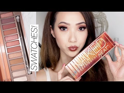 Urban Decay Naked Heat Collection Swatches & Tutorial!