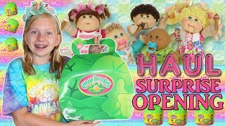 Download HUGE Cabbage Patch Kids SURPRISE Opening with Original Vintage Dolls Video
