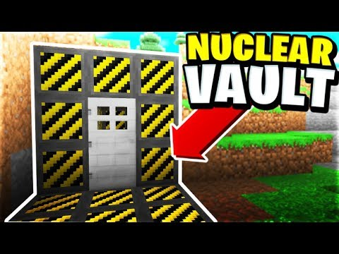 First NUCLEAR VAULT On The Server! | Minecraft WAR #53