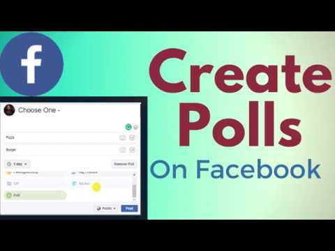 How To Create Polls On Facebook