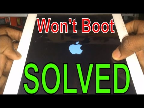 iPod iPad iPhone Won't Boot Up: Endless Bootloop Fix | Get Fixed