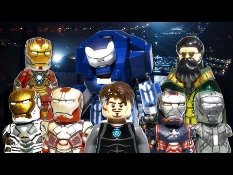LEGO Marvel : Iron Man 3 Minifigures - Showcase