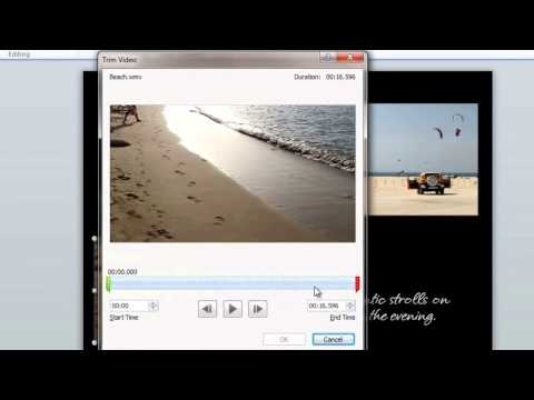 How to shorten a video in Microsoft PowerPoint 2010