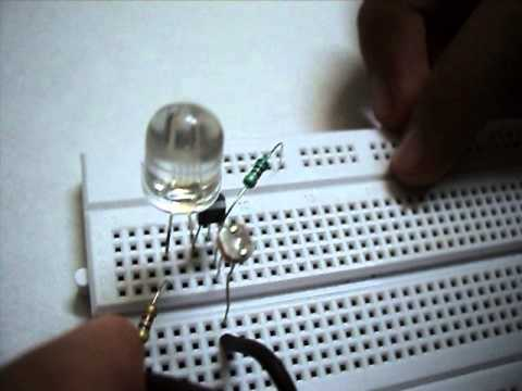 how to make a light sensor.