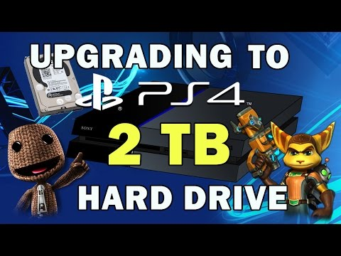 How to Upgrade PS4 to 2TB Hard Drive