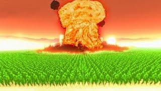 99999 Zombies vs. 1 Nuke! (Ultimate Epic Battle Simulator)