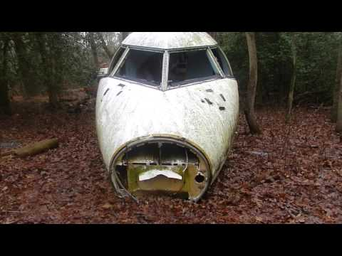 Abandoned Mystery Plane in New Jersey