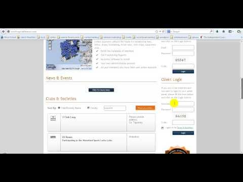 How to Access the MyClubFinances.com Admin Panel