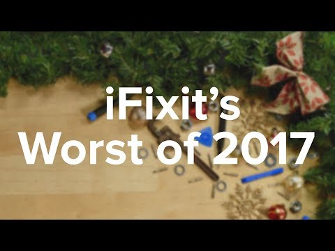 iFixit's Worst Devices of 2017