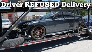 My Audi RS7 was Taken From me By its Delivery Driver! Here